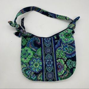Vera Bradley Olivia In Blue Rhapsody Hobo Bag